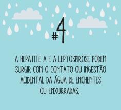 Cuidados necessários no período chuvoso (Foto: Reprodução/Internet)